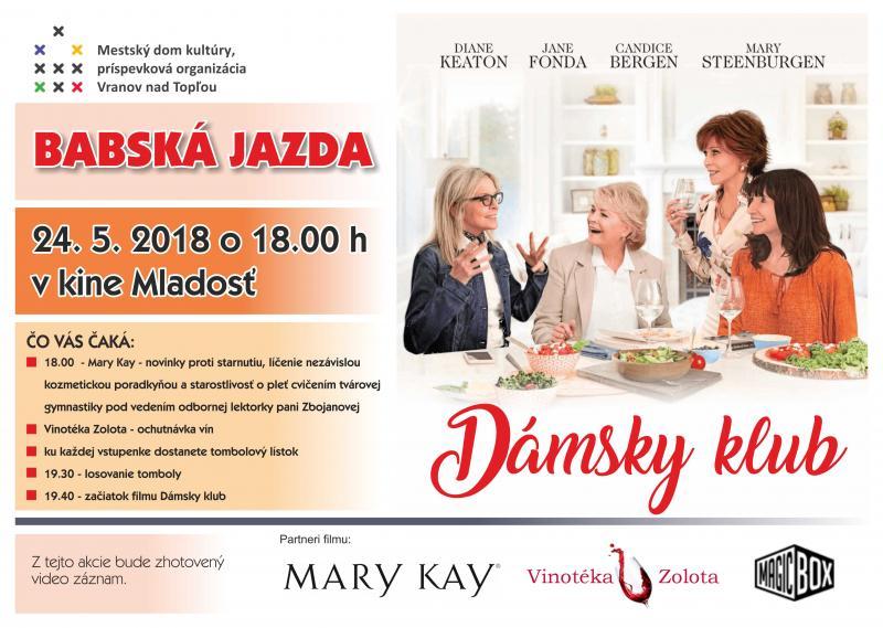 65504a5c8 Kino Mladosť pozýva na Babskú jazdu s komédiou